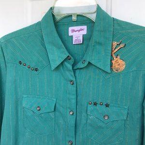 Wrangler Cowgirl Shirt